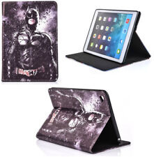 For Apple iPad 2 3 4 Batman Arkham Knight Marvel DC Smart Stand Case Cover Sleep