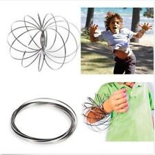 Fashion ToroFlux Spring Metal Flowtoys Flow Ring Kinetic Geoflux Kids Gift Toy