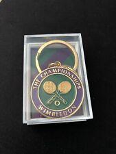 Tennis ball Keyring Trinket Keychain Badge The Championships Wimbledon