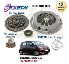 para Subaru Justy 1.0 R M300 1kr-fe 11/2007- > 3 piezas Exedy KIT DE EMBRAGUE