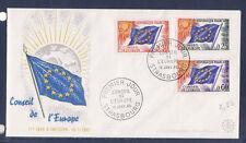enveloppe 1er jour     conseil de l' Europe     1965