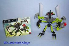Lego Bionicle 8695 Mistika GORAST - Complete with instructions & arrows
