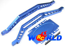 ALLOY CHASSIS BRACE w/LOWER PLATE B NEW EXTENDED E-MAXX T-MAXX 3.3 BRUSHLESS
