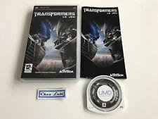 Transformers Le Jeu - Sony PSP - PAL FR - Avec Notice
