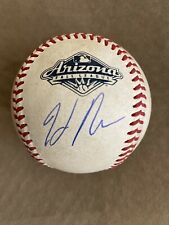 SAN FRANCISCO GIANTS HELIOT RAMOS AUTOGRAPHED GU ARIZONA FALL LEAGUE BASEBALL