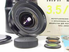 BRAND NEW. KMZ Wide angle MIR-20 M 20mm f/3.5 lens s/n 880707. Soviet Flektogon