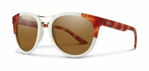 Smith-Bridgetown-0AHF/L5 White Havana Polarized Brown Chromapop