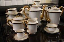 Servizio da té caffè in porcellana di Limoges firmato HAVILAND caffettiera
