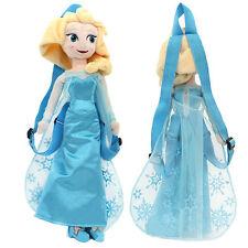 "Disney Frozen Princess Elsa Plush Backpack 18"" inches - BRAND NEW - Licensed"