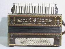 ANTICO STRUMENTO MUSICALE FISARMONICA ARMONICA MAGA ERCOLE STRADELLA FINE '800