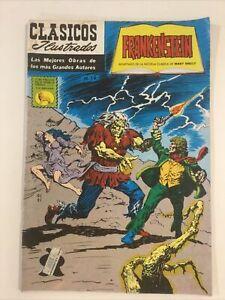 1984 SPANISH COMICS CLASICOS ILUSTRADOS M19 FRANKENSTEIN LA PRENSA MEXICO