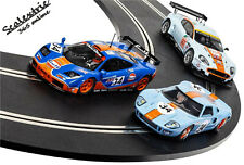 SCALEXTRIC Slot Car ROFGO Collection Gulf Triple Pack C4109A