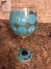 I do! Mudpie Bride Wine Glass Shower Wedding Gift