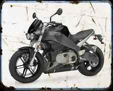 Buell Xb12S Lightning 08 A4 Metal Sign Motorbike Vintage Aged