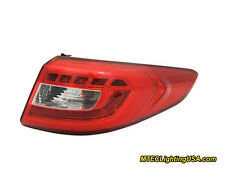 TYC NSF Right Outer Side LED Tail Light Assembly for Hyundai Sonata 2015-2016