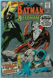 The Brave and the Bold #79 (1968) Early Neal Adams Batman & Deadman