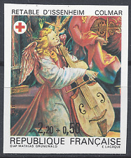 CROIX ROUGE RED CROSS N°2392 TIMBRE NON DENTELÉ IMPERF 1985 NEUF ** LUXE MNH