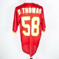 Vintage Derrick Thomas Kansas City Chiefs Russell Athletic Jersey 48 / XL