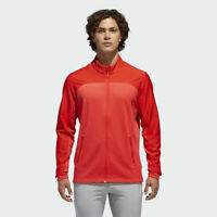 BRAND NEW $115 adidas Men's GOLF GO-TO JACKET DN3407 RED