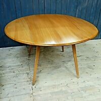Mid Century Ercol Drop Leaf Dining Table