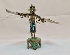 Sterling Silver Kachina Eagle Dancer Sculpture David Freeland Jr Design Tucson