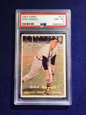 1957 Topps Dixie Howell #221 PSA 8 Chicago White Sox