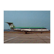 Aer Lingus - BAC 1-11 - EI ANG - Avión Tarjeta postal - Bueno Calidad
