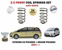FOR CITROEN C4 PICASSO GRAND PICASSO 1.6 HDI 2007-on FRONT AXLE COIL SPRINGS SET