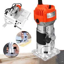 220V 800W 1/4'' Elettrico Mano Trimmer Legno Laminatore Router Falegname Tools
