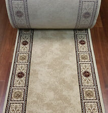 """Rug Depot Hall and Stair Runners - 26"""" Wide - Ivory Rug Runner High Quality"""