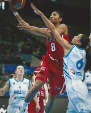 ANGEL MCCOUGHTRY USA BASKETBALL 8x10  COLOR PHOTOGRAPH #2 -  ATLANTA DREAM WNBA