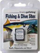 Hillsborough County Fishing & Dive Sites Memory Card
