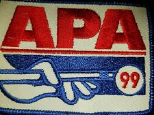 APA 1999 MEMBERSHIP PATCH PATCHES AMERICAN POOLPLAYERS