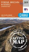 Forfar, Brechin and Edzell by Ordnance Survey 9780319472521 | Brand New