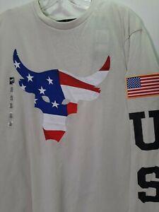 New Project Rock UNDER ARMOUR   Long Sleeve  Shirt  XXL  135870 110 usa
