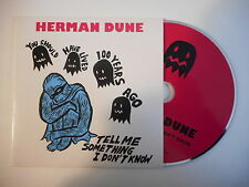 Herman dune: tell me something I don t know [cd single] free port