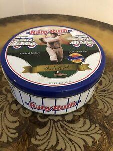 Babe Ruth Baby Ruth LMT Edition 1995 Collectors Tin Box Baseball Collectible