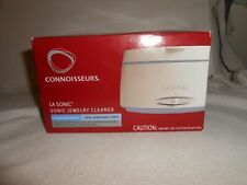 CONNOISSEURS LA SONIC SONIC JEWELRY CLEANER MACHINE MODEL #1043