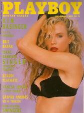 Playboy Hungary / Ungarn 1991/05 CV Kim Basinger Christina Leardini Dona Speir