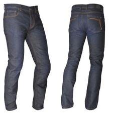 Pantalons textiles en denim pour motocyclette