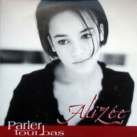 FRENCH CD SINGLE PROMO ALIZEE PARLER TOUT BAS CARDBOARD SLEEVE MYLENE FARMER