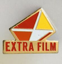 Extra Film Camera Brand Pin Badge Vintage Advertising (N24)