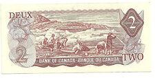 1974 UNC Canada 2 dollar Bill ABY9377701 Lawson/Bouey BC-47a-i Whaling