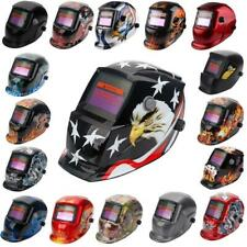 Lot 34 Pro Solar Powered Auto-Darkening Welding Helmet Mask Grinding Shield Gear