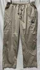 Cherokee Workwear Beige Khaki Size Xl Style 4000 Scrub Pants