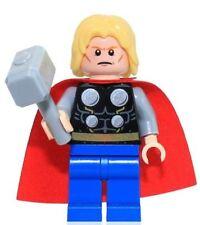 Lego Thor with Hammer Hulk Lab Smash Marvel Super Heroes Minifigure NEW 76018