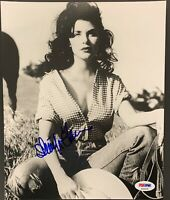Sherilyn Fenn Signed Photo PSA/DNA 8x10 Autograph Twin Peaks Sexy Boxing Helena