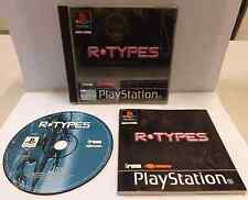 SONY Console Gioco Game PS1 Playstation PSOne PSX PAL - R-TYPES - Sparatutto - -