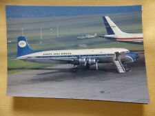 EUROPE AERO SERVICE   DC 6B   F-BOEV   /  collection vilain N° 377