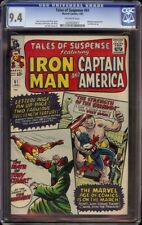 Tales of Suspense # 61 CGC 9.4 OW (Marvel, 1965) Mandarin cover & appearance